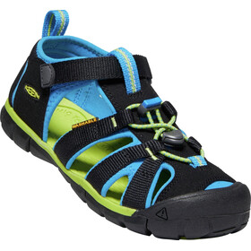 Keen Seacamp II CNX Chaussures Adolescents, black/brilliant blue